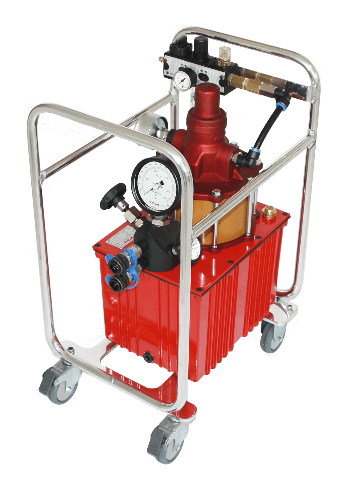 Pneumatic high pressure hydraulic pump -hydraulic unit ITH Aero-MAX 9
