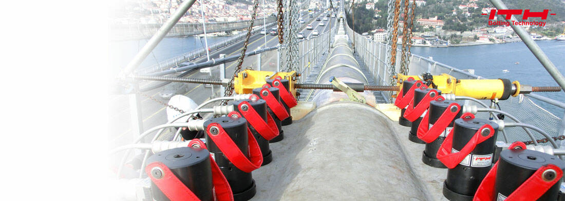 Bosphorus suspension bridges tightened precisely