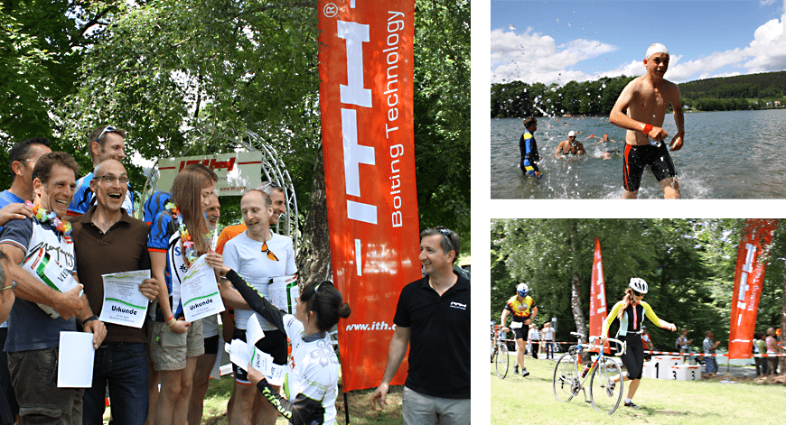 ITH supports sport and organizes the ITH Hennesee Triathlon