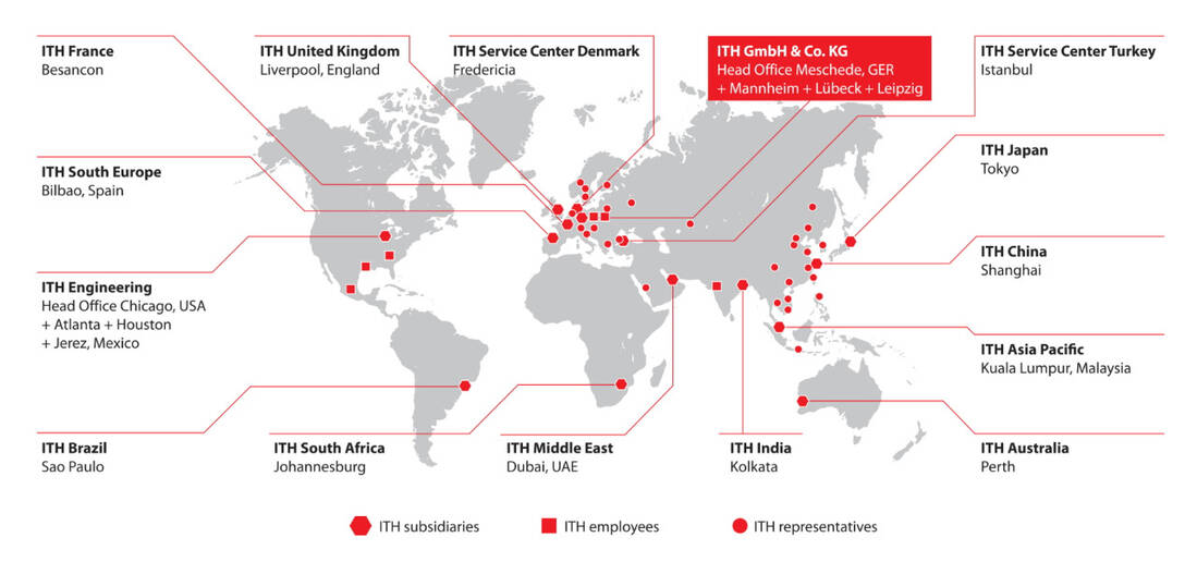 ITH Worldwide Distribution Network