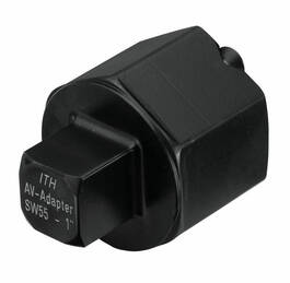 Square drive adapter to use existing nuts - type DKS-AV
