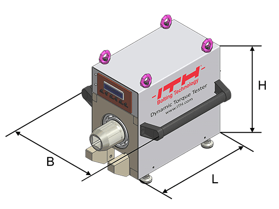 Dimensions of the ITH Dynamic Torque Tester