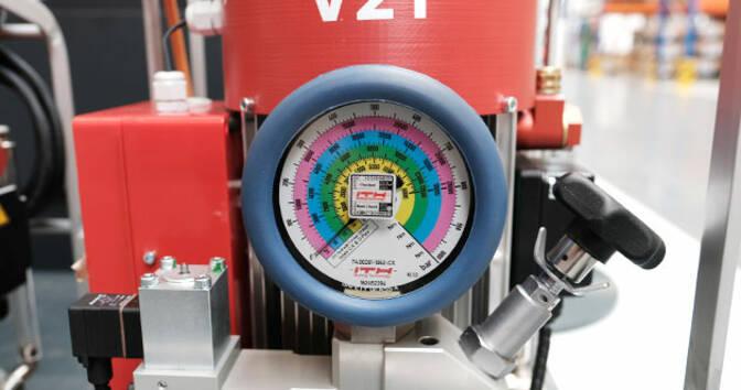 Стандартный манометр высокого давления