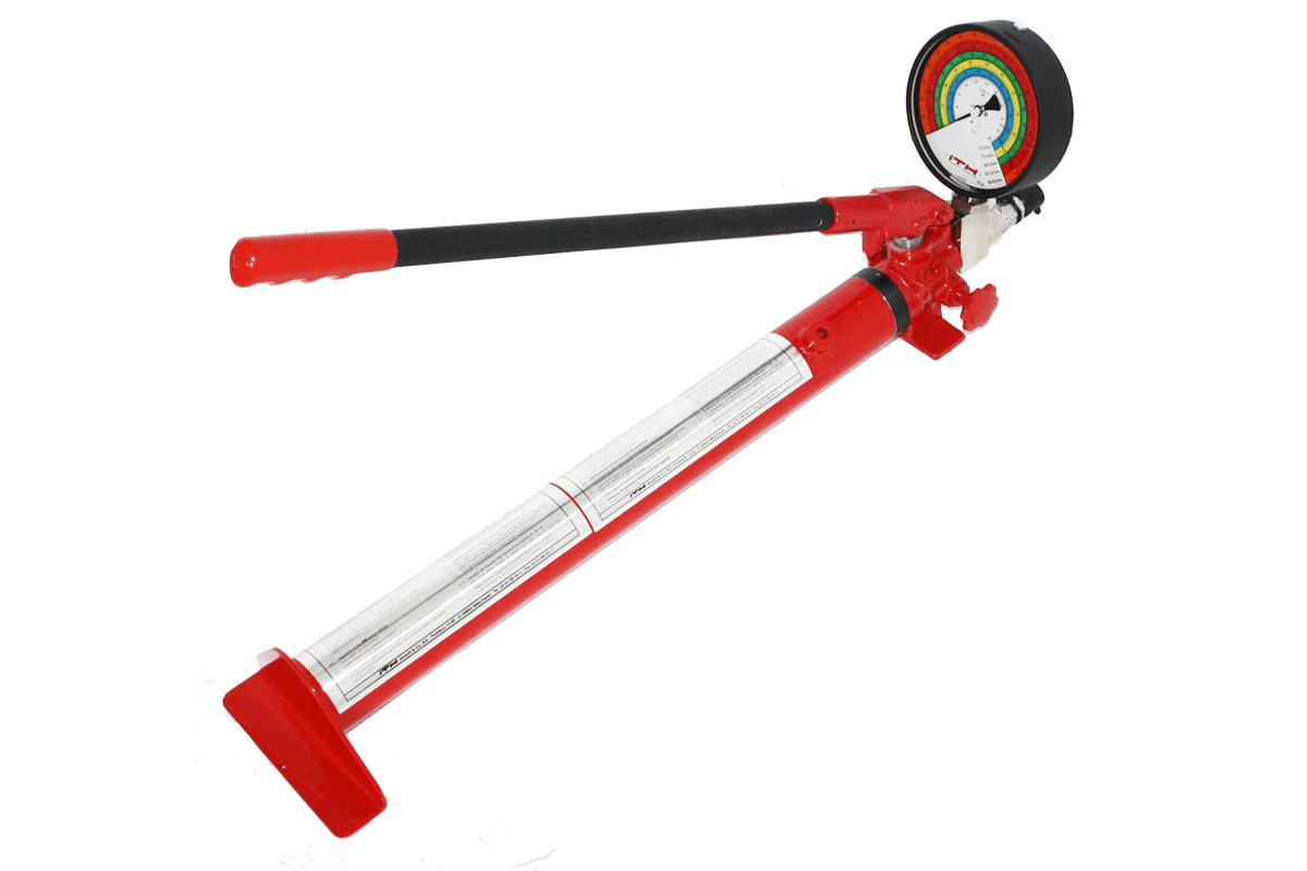 Manual pump for torque wrenches type DA 16
