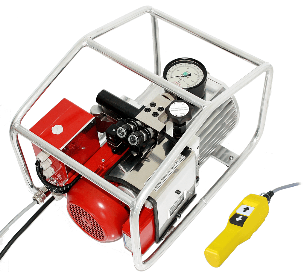 Электрический гидравлический насос высокого давления ITH Eco-MAX с устройством дистанционного управления