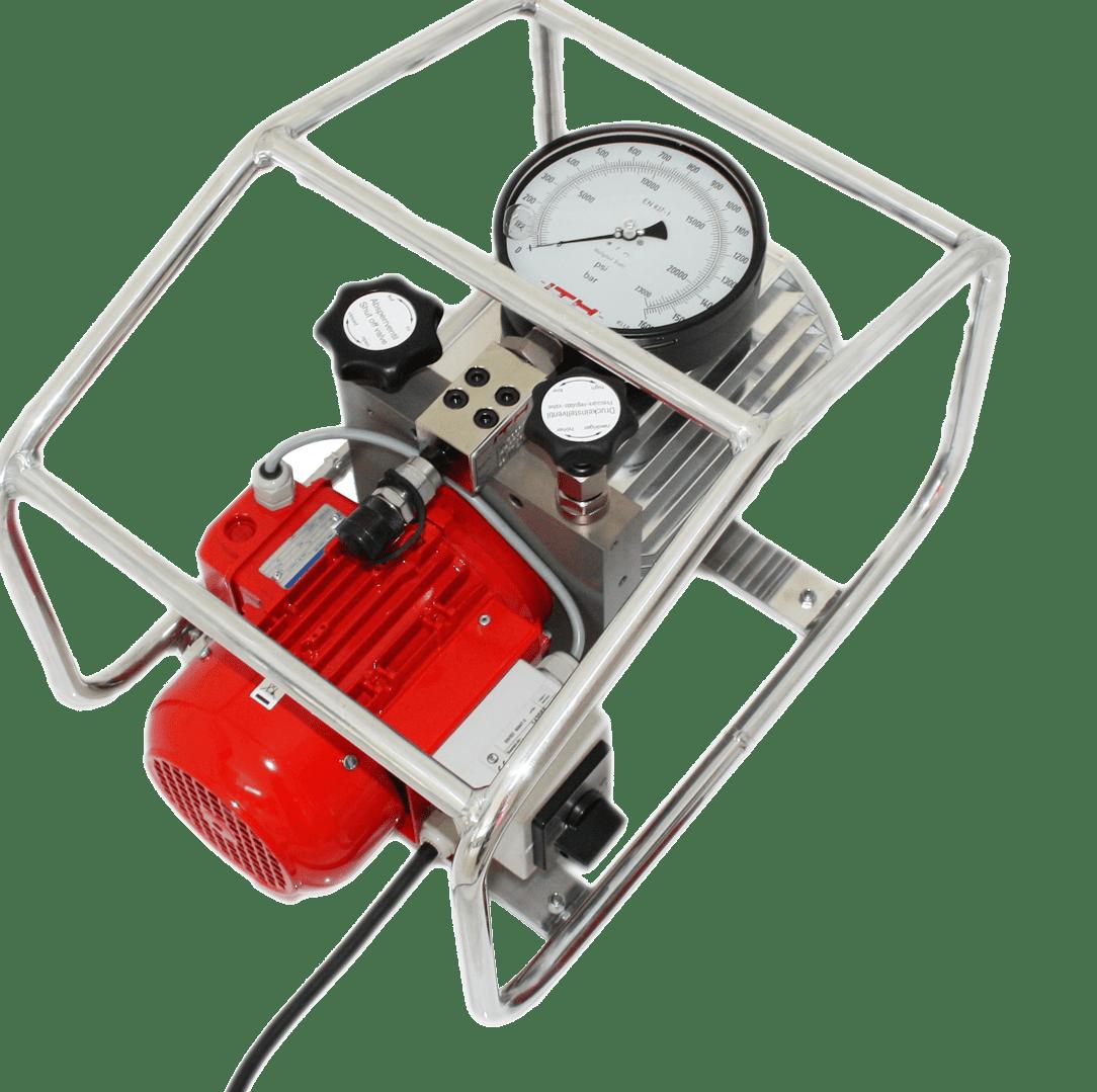 Electric high pressure hydraulic pump ITH Eco-MAX 17