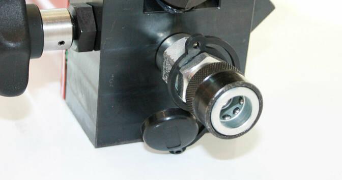 Запорный клапан и соединитель высокого давления