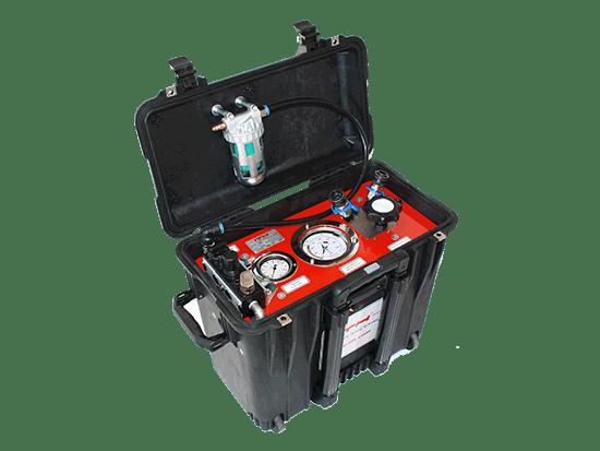 Пневматический гидравлический насос высокого давления ITH Travel-MAX 41