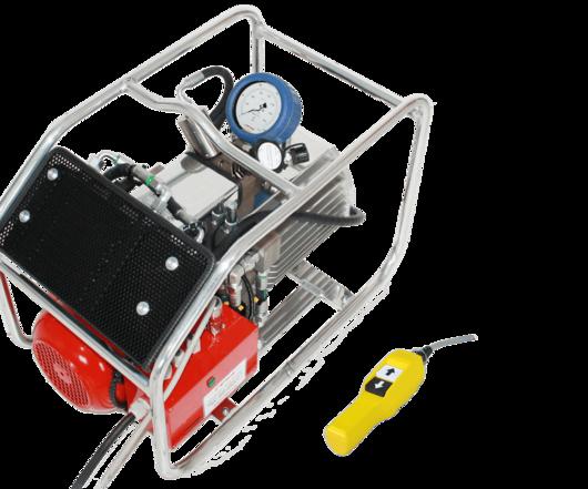 Электрический гидравлический насос высокого давления ITH Hydro-MAX 39