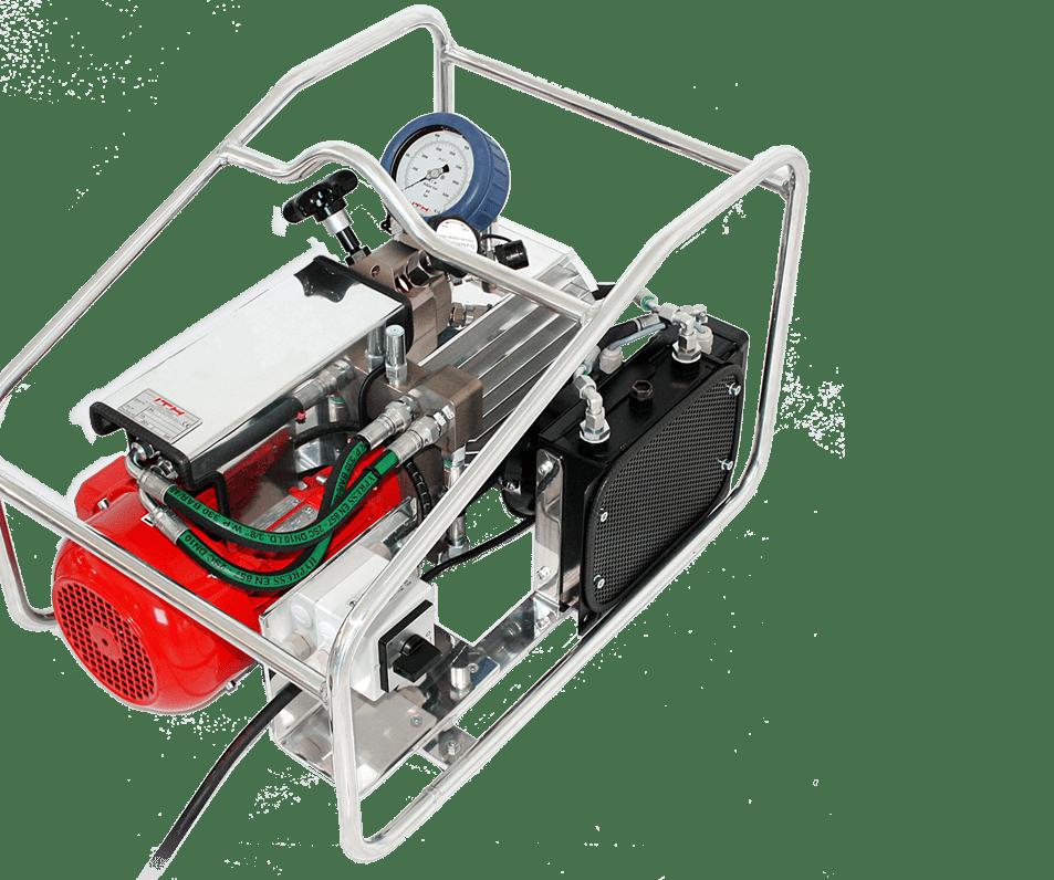 Электрический гидравлический насос высокого давления ITH Hydro-MAX 37