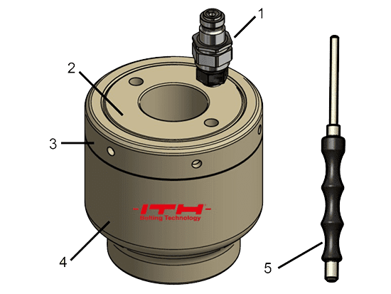 Hydraulic nut - standard design