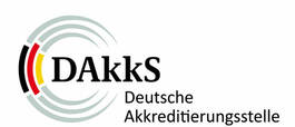 Certified precision by DAkkS (German Accreditation Body)