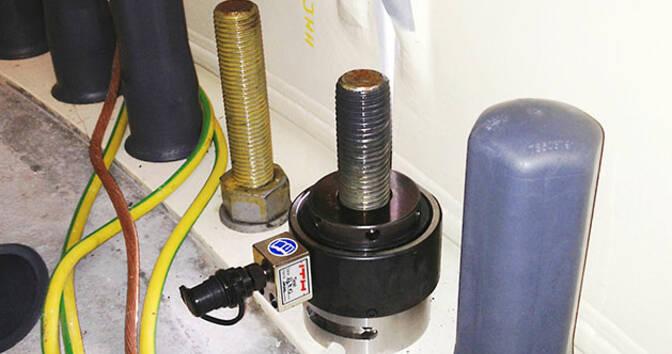 Тип SES – болтовое соединение фундамента ветряной энергетической установки